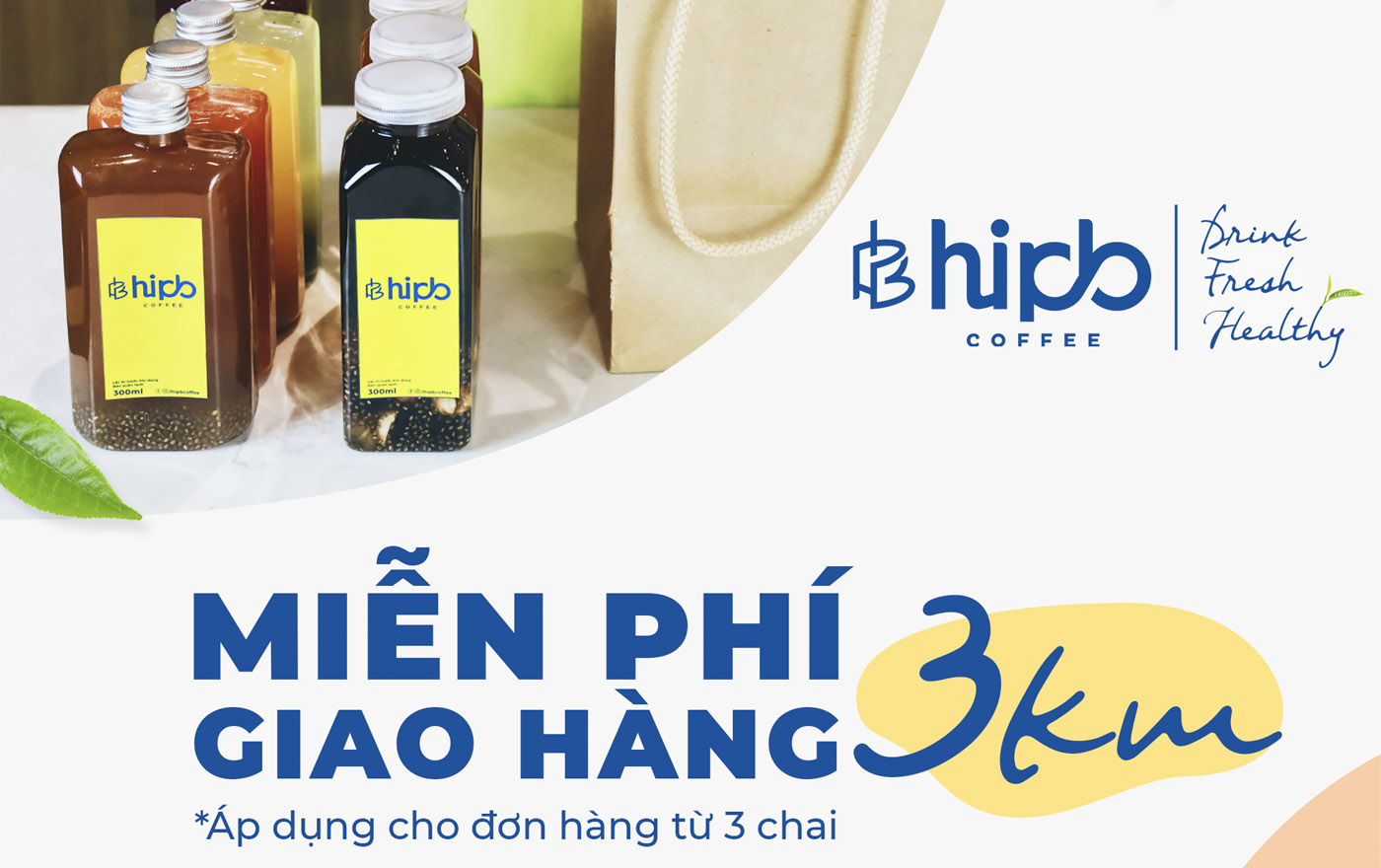 """Nhâm nhi đồ uống đóng chai mới của HiPB với nhiều """"ƯU ĐÃI"""""""
