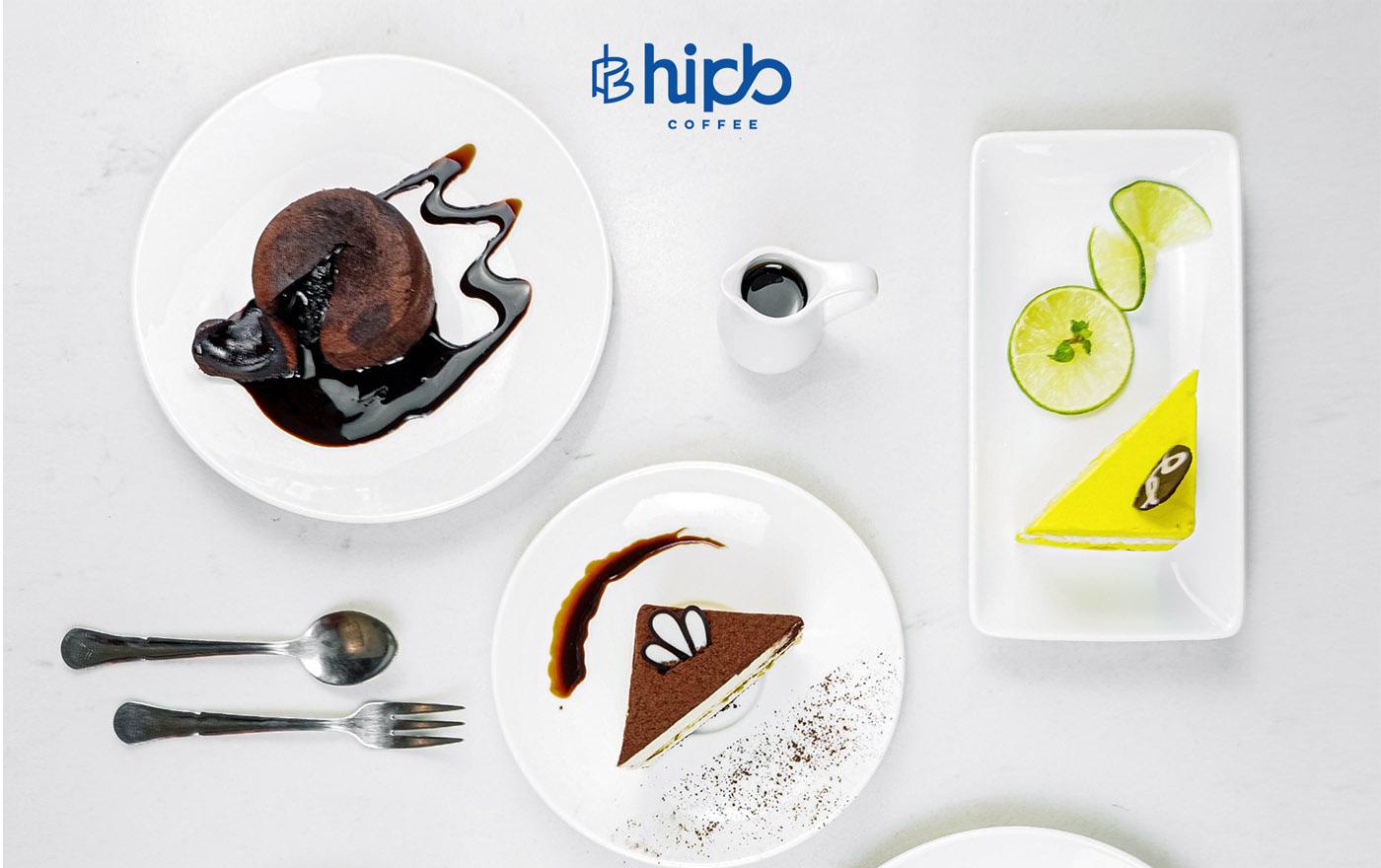 """HiPB Coffee - điểm hẹn hò """"ngọt ngào"""" với các loại bánh"""